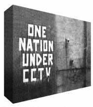 Banksy One Nation CCTV Canvas Art - Choose your size - Ready to Hang - Free P&P